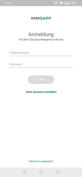App - Login
