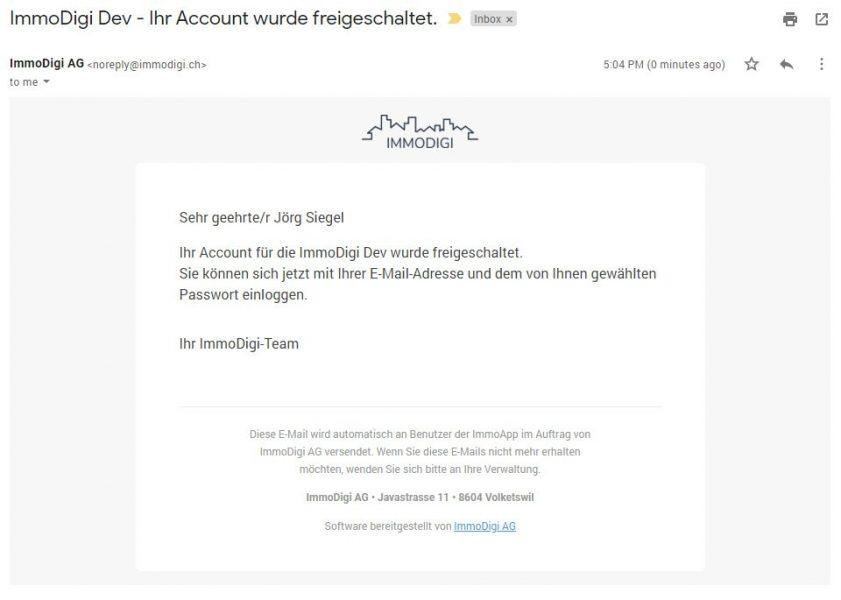 Admin - E-Mail
