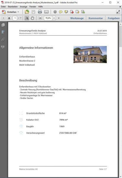 PDF-Bericht - Liegenschaft