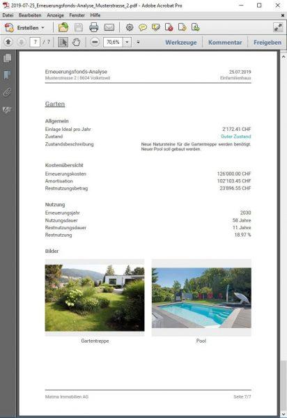 PDF-Bericht - Gebäudeteil
